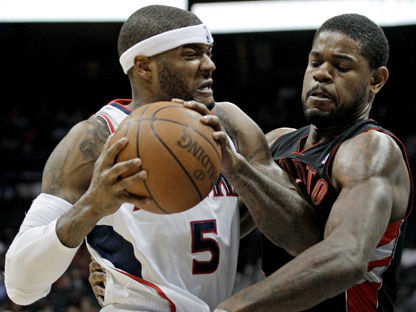 Josh Smith, Amir Johnson