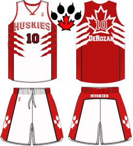 Toronto Huskies Jerseys home