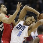 Gerald Henderson illustrates a problem for the Raptors