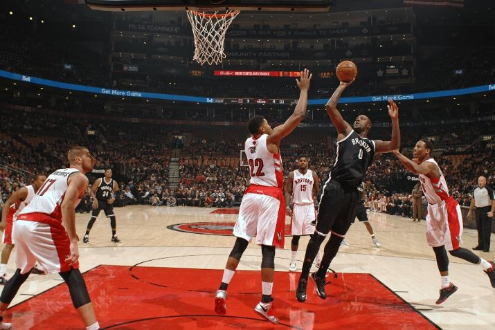 Toronto Raptors 100 vs Brooklyn Nets 102
