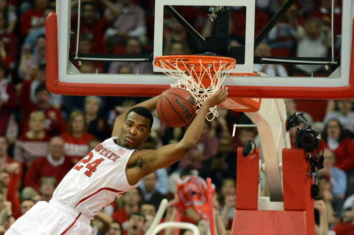 NCAA Basketball: North Carolina at North Carolina State