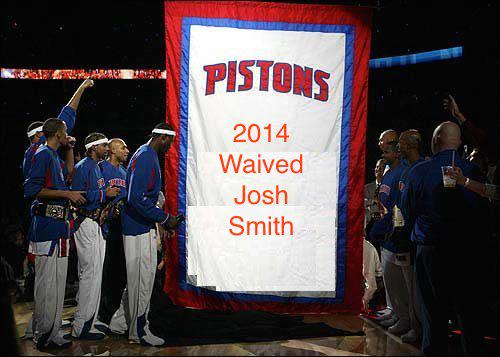 Pistons newest banner