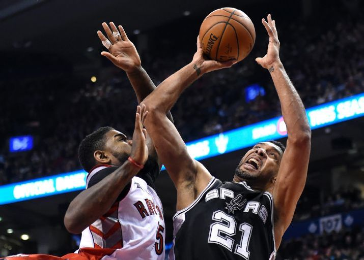 Spurs Vs. Raptors