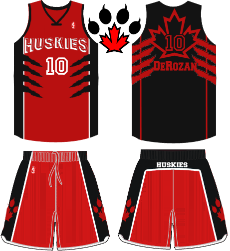 Toronto Huskies Jerseys away