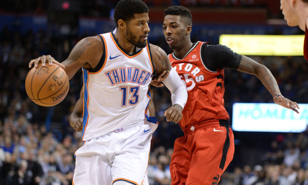 NBA Wrap: Westbrook triple-double ends Raptors' 11-game streak
