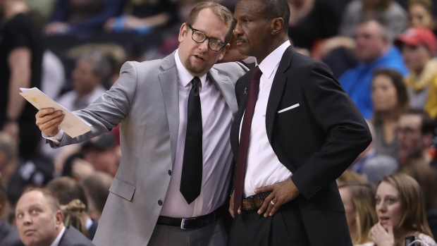 Toronto assistant Nick Nurse promoted Raptors head coach, says source