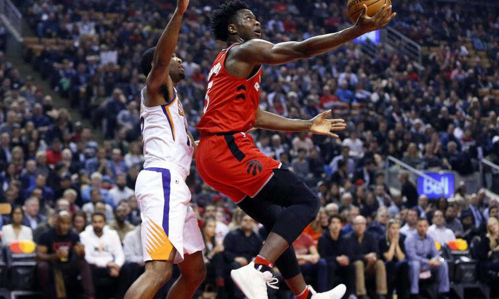 Serge Ibaka nets career-high 34, leads Raptors past Lakers