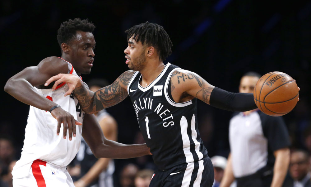 Kawhi Leonard Banked In A Winner Against The Nets In Toronto